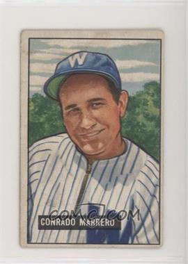 1951 Bowman - [Base] #206 - Connie Marrero [Good to VG‑EX]