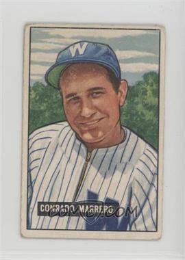 1951 Bowman - [Base] #206 - Connie Marrero [GoodtoVG‑EX]