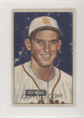 1951 Bowman - [Base] #210 - Les Moss [Poor to Fair]