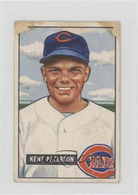1951 Bowman - [Base] #215 - Kent Peterson [Poor]