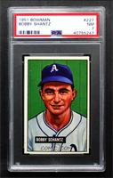 Bobby Shantz (Name Spelled Schantz) [PSA 7 NM]