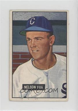 1951 Bowman - [Base] #232 - Nellie Fox [Poor]