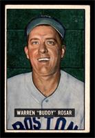 Warren 'Buddy' Rosar [VG]