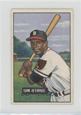 1951 Bowman - [Base] #242 - Sam Jethroe [Good to VG‑EX]