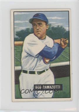 1951 Bowman - [Base] #247 - Bob Ramazotti [GoodtoVG‑EX]