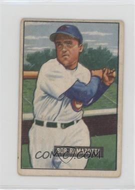 1951 Bowman - [Base] #247 - Bob Ramazotti [Poor to Fair]