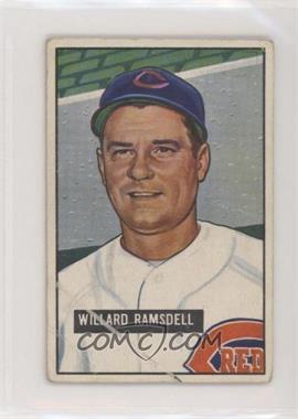 1951 Bowman - [Base] #251 - Willard Ramsdell [PoortoFair]