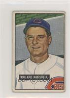 Willard Ramsdell [Good to VG‑EX]