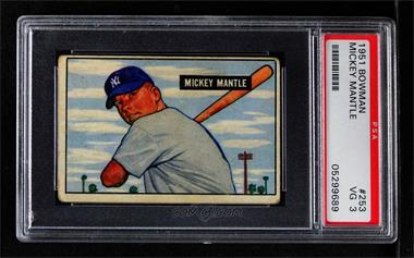 1951 Bowman - [Base] #253 - Mickey Mantle [PSA 3 VG]