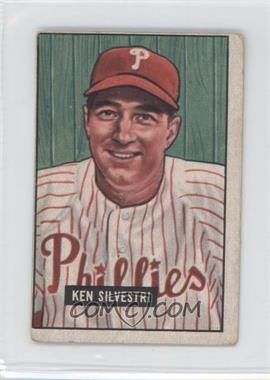 1951 Bowman - [Base] #256 - Ken Silvestri [Good to VG‑EX]