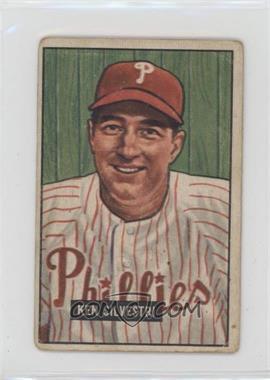 1951 Bowman - [Base] #256 - Ken Silvestri [PoortoFair]