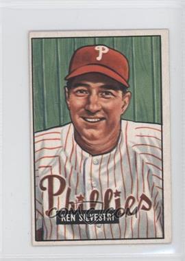 1951 Bowman - [Base] #256 - Ken Silvestri
