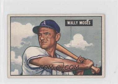 1951 Bowman - [Base] #261 - Wally Moses