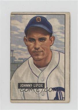 1951 Bowman - [Base] #285 - Johnny Lipon [Good to VG‑EX]