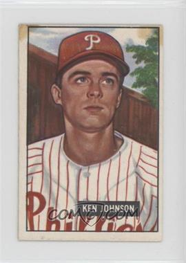 1951 Bowman - [Base] #293 - Ken Johnson [Poor]