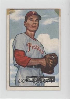 1951 Bowman - [Base] #294 - Jocko Thompson [Poor]