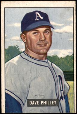 1951 Bowman - [Base] #297 - Dave Philley [VG]