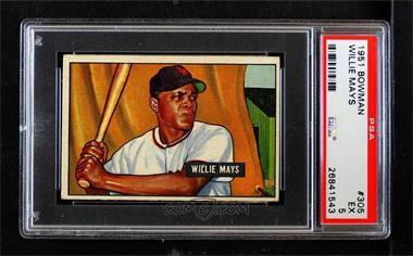 1951 Bowman - [Base] #305 - Willie Mays [PSA5EX]