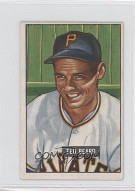 1951 Bowman - [Base] #308 - Ted Beard