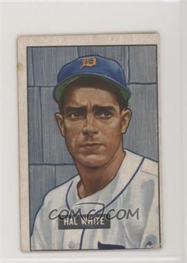 1951 Bowman - [Base] #320 - Hal White [Good to VG‑EX]