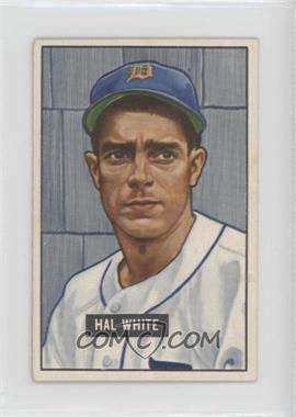 1951 Bowman - [Base] #320 - Hal White [GoodtoVG‑EX]