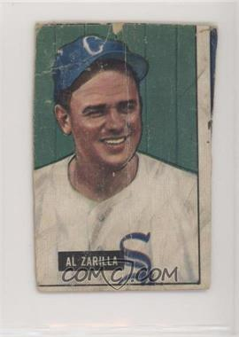 1951 Bowman - [Base] #35 - Al Zarilla [Altered]