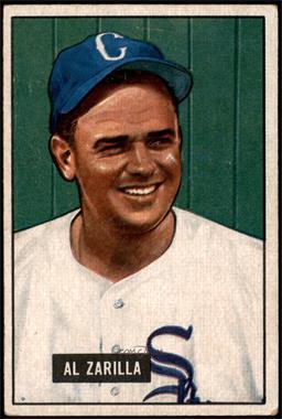 1951 Bowman - [Base] #35 - Al Zarilla [VGEX]