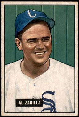 1951 Bowman - [Base] #35 - Al Zarilla [EX+]