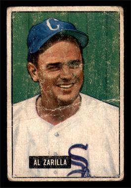 1951 Bowman - [Base] #35 - Al Zarilla [FAIR]