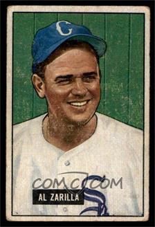 1951 Bowman - [Base] #35 - Al Zarilla [VG]