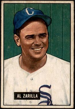 1951 Bowman - [Base] #35 - Al Zarilla [VG+]