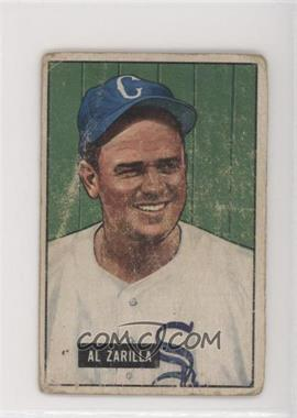 1951 Bowman - [Base] #35 - Al Zarilla [Poor to Fair]