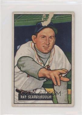 1951 Bowman - [Base] #39 - Ray Scarborough [PoortoFair]