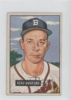 1951 Bowman - [Base] #42 - Vern Bickford [Good to VG‑EX]