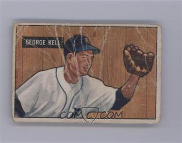 1951 Bowman - [Base] #46 - George Kell (States 1941 on Back) [Poor]