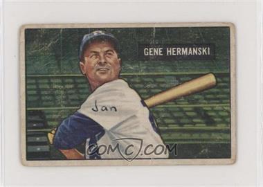 1951 Bowman - [Base] #55 - Gene Hermanski [NonePoortoFair]