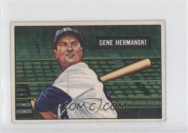 1951 Bowman - [Base] #55 - Gene Hermanski
