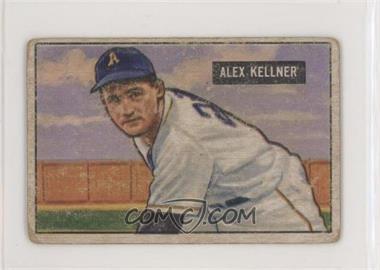 1951 Bowman - [Base] #57 - Alex Kellner [GoodtoVG‑EX]