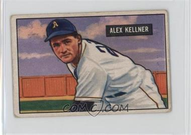 1951 Bowman - [Base] #57 - Alex Kellner [Good to VG‑EX]