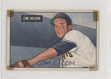 1951 Bowman - [Base] #61 - Jim Hearn [PoortoFair]