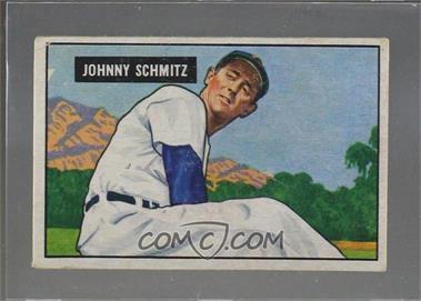 1951 Bowman - [Base] #69 - Johnny Schmitz [PoortoFair]