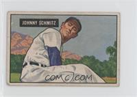 Johnny Schmitz [Good to VG‑EX]