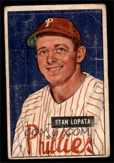 1951 Bowman - [Base] #76 - Stan Lopata [FAIR]