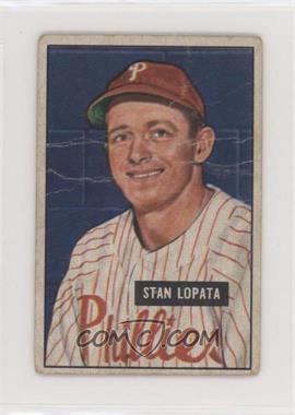 1951 Bowman - [Base] #76 - Stan Lopata