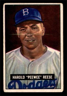 1951 Bowman - [Base] #80 - Pee Wee Reese [VG]