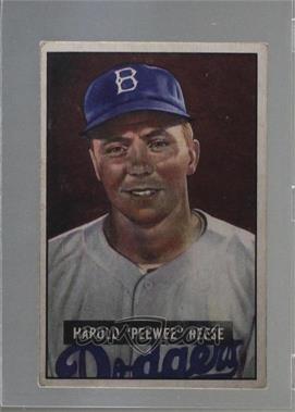 1951 Bowman - [Base] #80 - Pee Wee Reese [GoodtoVG‑EX]
