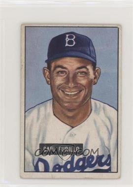 1951 Bowman - [Base] #81 - Carl Furillo [GoodtoVG‑EX]