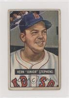 Vern 'Junior' Stephens [Poor to Fair]