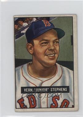 1951 Bowman - [Base] #92 - Vern 'Junior' Stephens [GoodtoVG‑EX]