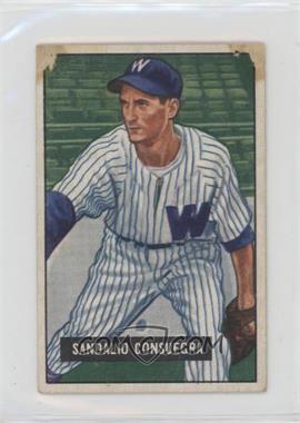 1951 Bowman - [Base] #96 - Sandy Consuegra [Poor]